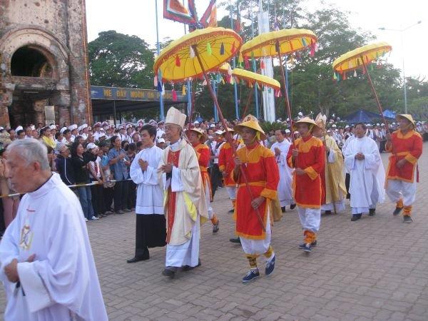Hình ảnh khai mạc hành hương Mẹ La Vang 2009